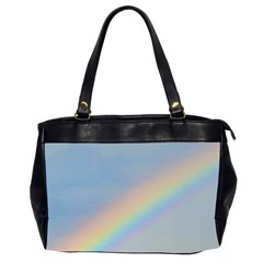 Rainbow Oversize Office Handbag (Two Sides)