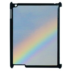 Rainbow Apple Ipad 2 Case (black)