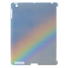 Rainbow Apple Ipad 3/4 Hardshell Case (compatible With Smart Cover)