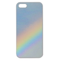 Rainbow Apple Seamless Iphone 5 Case (clear)
