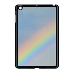 Rainbow Apple iPad Mini Case (Black)