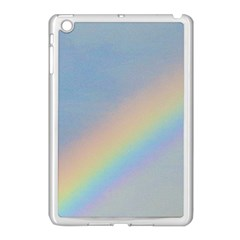 Rainbow Apple Ipad Mini Case (white)