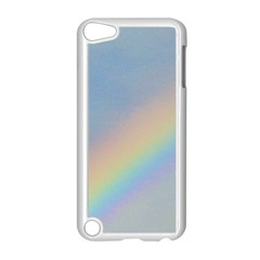 Rainbow Apple iPod Touch 5 Case (White)