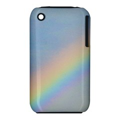 Rainbow Apple iPhone 3G/3GS Hardshell Case (PC+Silicone)