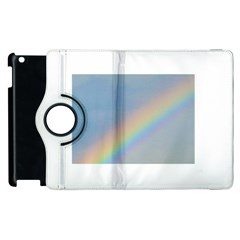 Rainbow Apple Ipad 2 Flip 360 Case