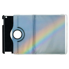 Rainbow Apple iPad 3/4 Flip 360 Case