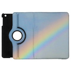 Rainbow Apple iPad Mini Flip 360 Case
