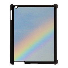 Rainbow Apple iPad 3/4 Case (Black)