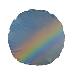 Rainbow Standard 15  Premium Round Cushion