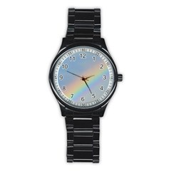 Rainbow Sport Metal Watch (Black)
