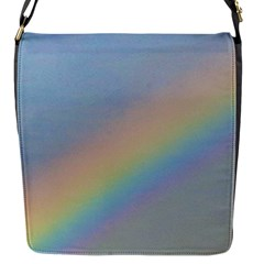 Rainbow Flap Closure Messenger Bag (small)