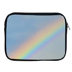 Rainbow Apple iPad Zippered Sleeve