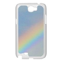 Rainbow Samsung Galaxy Note 2 Case (White)