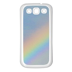Rainbow Samsung Galaxy S3 Back Case (White)