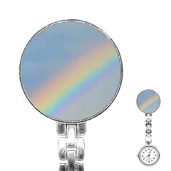 Rainbow Stainless Steel Nurses Watch
