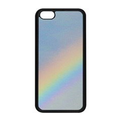 Rainbow Apple iPhone 5C Seamless Case (Black)