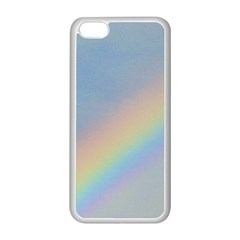 Rainbow Apple Iphone 5c Seamless Case (white)