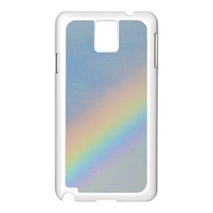 Rainbow Samsung Galaxy Note 3 N9005 Case (white)