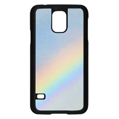 Rainbow Samsung Galaxy S5 Case (black)