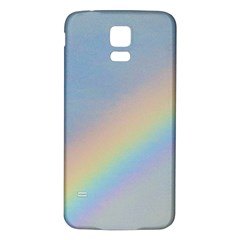 Rainbow Samsung Galaxy S5 Back Case (White)