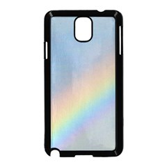 Rainbow Samsung Galaxy Note 3 Neo Hardshell Case (Black)