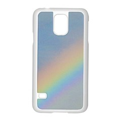 Rainbow Samsung Galaxy S5 Case (White)