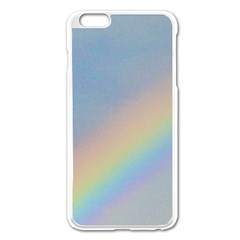 Rainbow Apple Iphone 6 Plus Enamel White Case