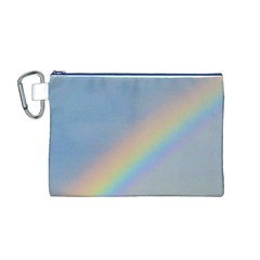 Rainbow Canvas Cosmetic Bag (Medium)