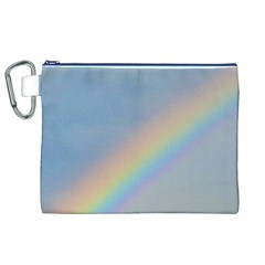 Rainbow Canvas Cosmetic Bag (XL)