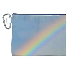 Rainbow Canvas Cosmetic Bag (XXL)
