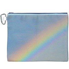 Rainbow Canvas Cosmetic Bag (XXXL)
