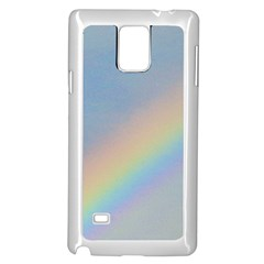 Rainbow Samsung Galaxy Note 4 Case (White)