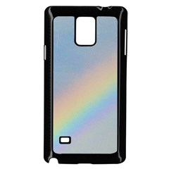 Rainbow Samsung Galaxy Note 4 Case (Black)