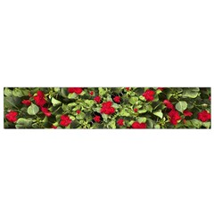 Floral Collage Print Flano Scarf (Small)