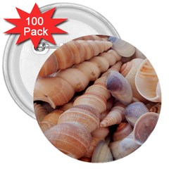 Seashells 3000 4000 3  Button (100 pack)