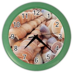 Seashells 3000 4000 Wall Clock (Color)