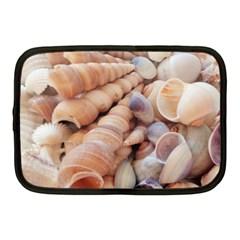 Seashells 3000 4000 Netbook Sleeve (medium)