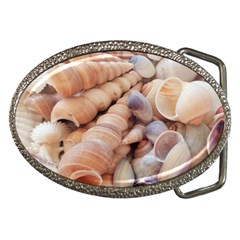 Sea Shells Belt Buckle (Oval)