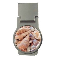 Sea Shells Money Clip (Round)
