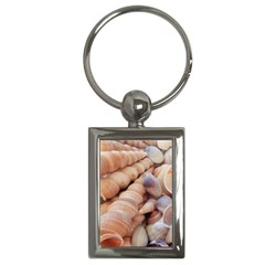 Sea Shells Key Chain (Rectangle)