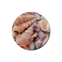 Sea Shells Drink Coasters 4 Pack (Round)