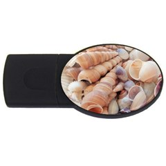Sea Shells 4gb Usb Flash Drive (oval)