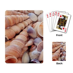 Sea Shells Playing Cards Single Design