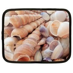 Sea Shells Netbook Sleeve (large)