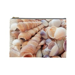 Sea Shells Cosmetic Bag (Large)