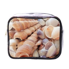 Sea Shells Mini Travel Toiletry Bag (One Side)