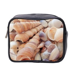 Sea Shells Mini Travel Toiletry Bag (Two Sides)