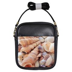 Sea Shells Girl s Sling Bag