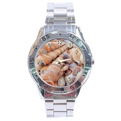 Sea Shells Stainless Steel Watch