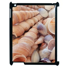 Sea Shells Apple iPad 2 Case (Black)